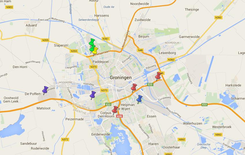 Datacenters in Groningen