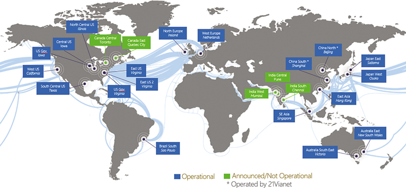 Azure global infrastructure