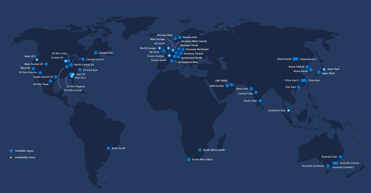 Microsoft Azure Datacenters