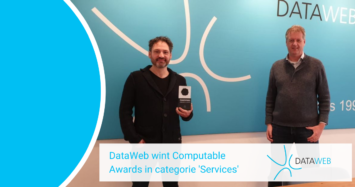 DataWeb wint Computable Awards 2020 in categorie 'Services'