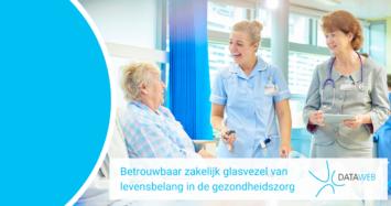 Betrouwbaar zakelijk glasvezel van levensbelang in de gezondheidszorg